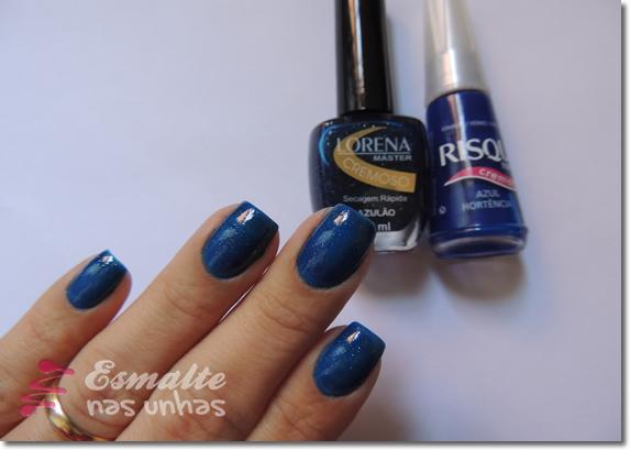 Azulão - Lorena e Azul Hortênsia - Risqué
