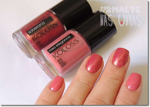 Koloss - Rosa Elegance e Soberana