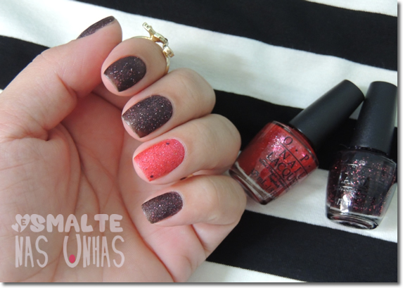 OPI Stay the Night e The Impossible