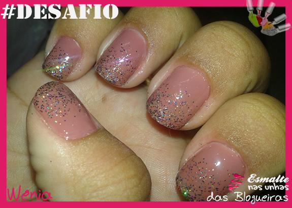 Unha 4 - Glitter - Wenia