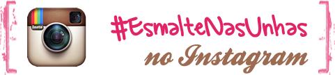Logo #EsmaltenasUnhas no Instagram