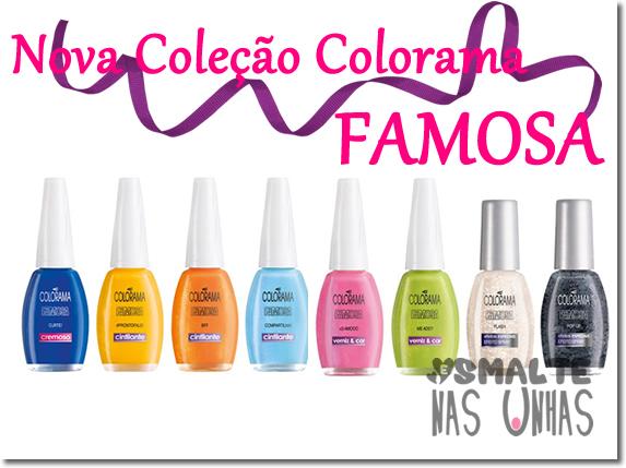 Coleção Famosa - Colorama