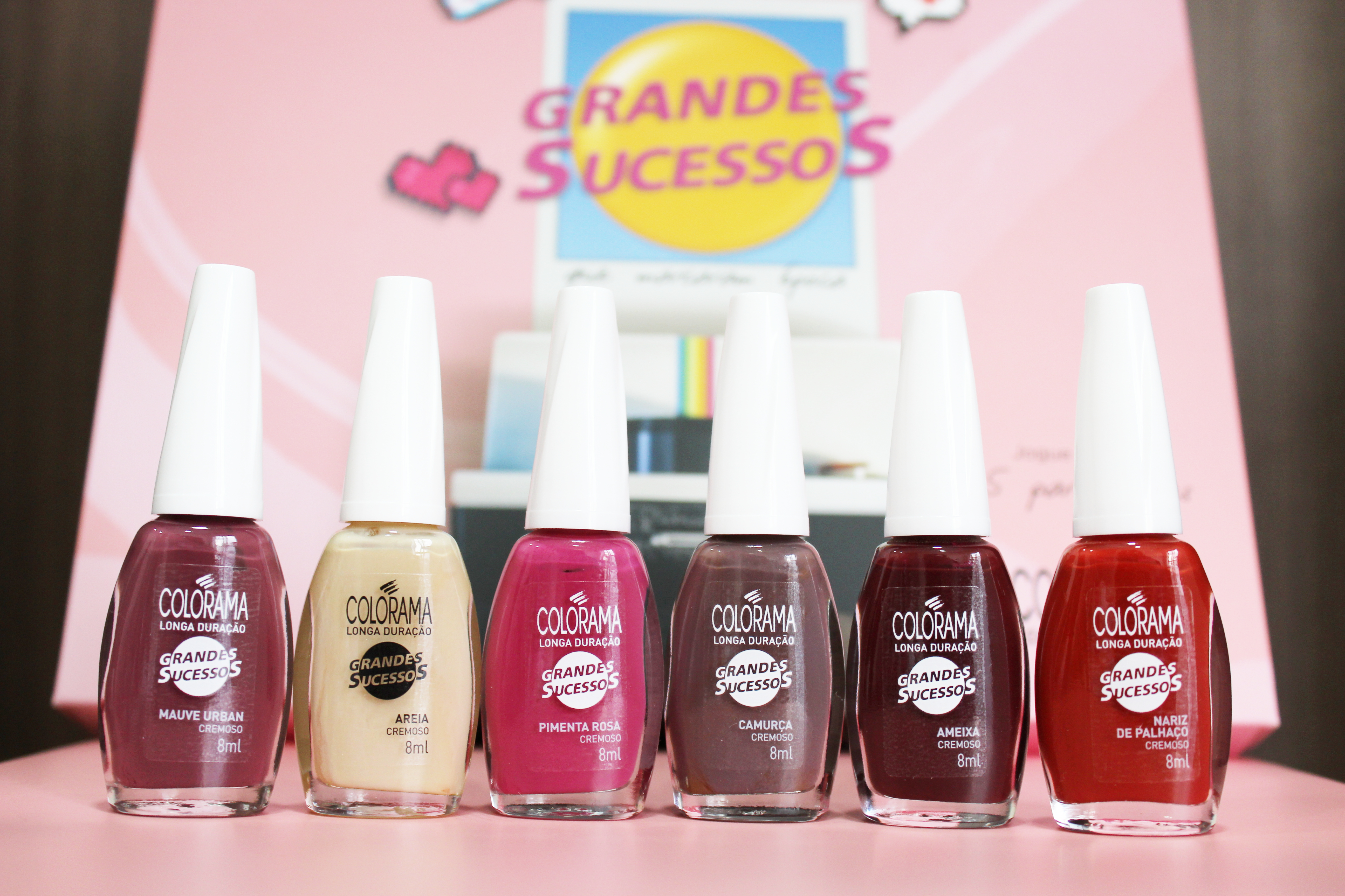 [Swatches] Grandes Sucessos da Colorama!